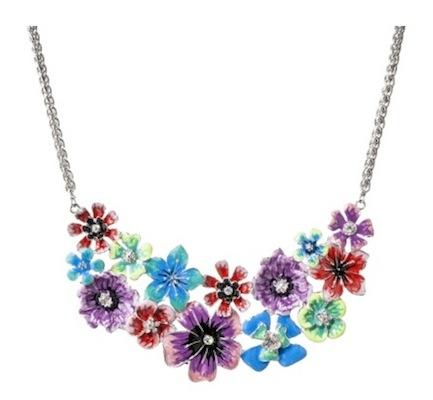 Prabal Gurung for Target Cluster Flower Bib Necklace