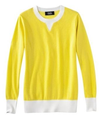 Prabal Gurung for Target Colorblock Long Sleeve Sweater