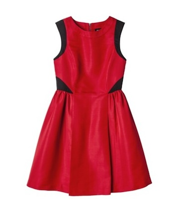Prabal Gurung for Target Dress with Full Skirt in Apple Red