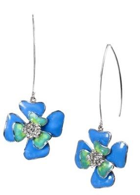 Prabal Gurung for Target Flower Drop Earrings