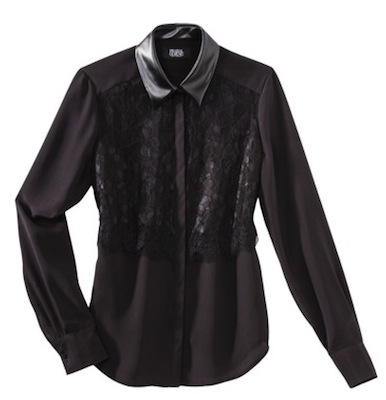 Prabal Gurung for Target Lace Front Blouse