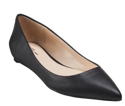 Prabal Gurung for Target Pointy Toe Flat in Black