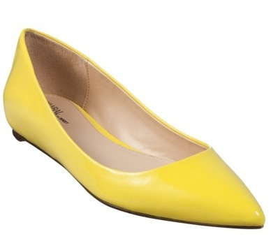Prabal Gurung for Target Pointy-Toe Flat in Blazing Yellow