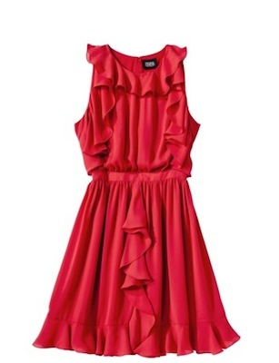 Prabal Gurung for Target Ruffle Dress in Apple Red