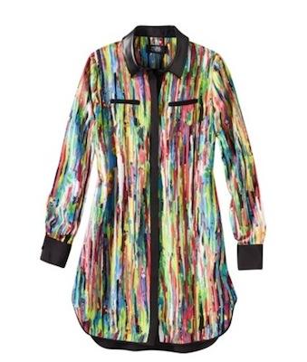 Prabal Gurung for Target  Shirt Dress in Nolita Print