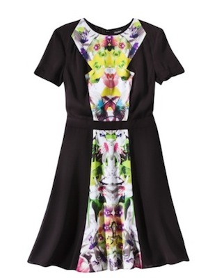 Prabal Gurung for Target Short Sleeve Dress in First Date Print