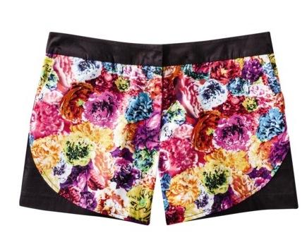 Prabal Gurung for Target Shorts in Floral Crush Print
