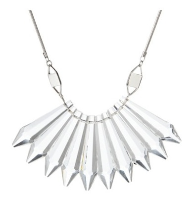 Prabal Gurung for Target Silver Short Necklace with Crystal