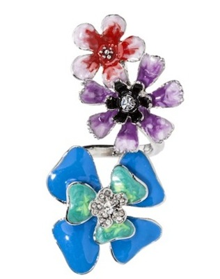 Prabal Gurung for Target Spiral Flower Ring