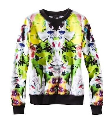 Prabal Gurung for Target  Sweatshirt in First Date Print