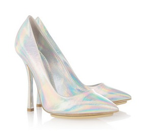 07708421facb Holograms  Stella McCartney Holographic Faux Leather Pumps ( 760)