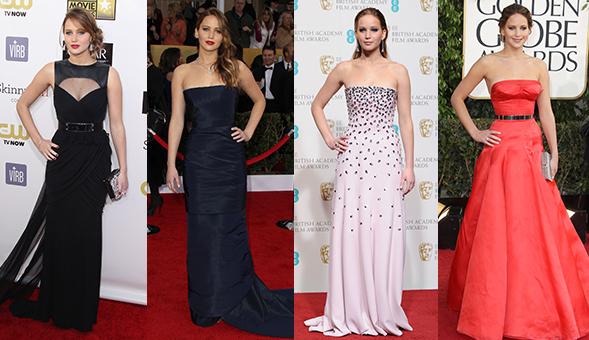 Jennifer Lawrence Oscars Dress 2013 | Jennifer Lawrence Golden ...