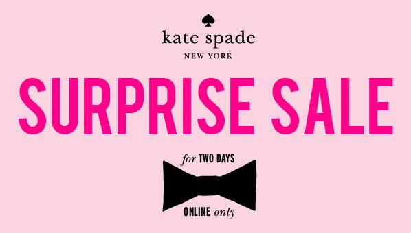 Kate Spade Surprise Sale | 2013
