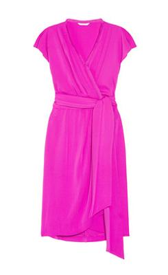8095cb2ce464 Diane von Furstenberg Mateo silk-blend wrap-effect dress - SHEfinds