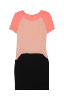 086b498f31a6 Diane von Furstenberg Mateo silk-blend wrap-effect dress ($365)
