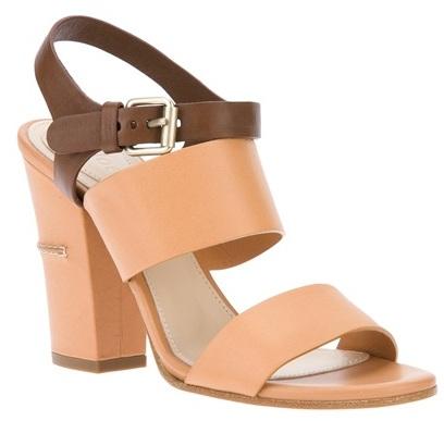 Chunky Heel Sandals | Chunky Heel Trend « Chloe Chunky Heel Tan ...