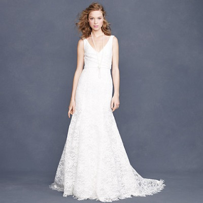 J Crew Sara Lace Gown 2200