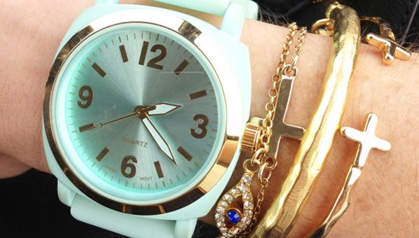 mint green iconic original sixties watches en journal fhh collection for cc tte glashu glash