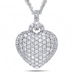 3-12-carat-created-white-sapphire-sterling-silver-heart-shape-pendant-w-three-strand-chain