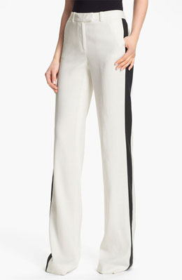 Tuxedo Pants | Tuxedo Pants Trend | Striped Tuxedo Pants « Rachel ...