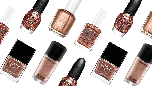 Rose Gold Nail Polish Spring 2013 Beauty Trends 171 Rose Gold Nail Polish Shefinds