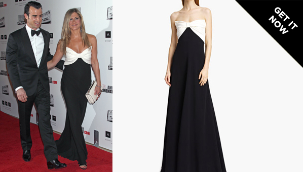 Jennifer Aniston Dress | Valentino Bow Bodice Gown