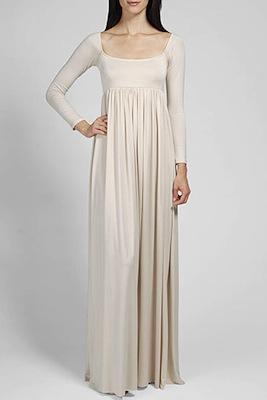 Kim Kardashian White Maxi Dress - Rachel Pally Isa Dress