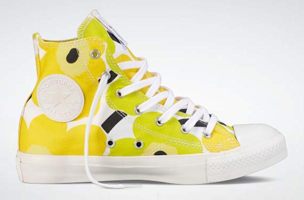 Converse X Marimekko Chuck Taylor All Star UNIKKO yellow