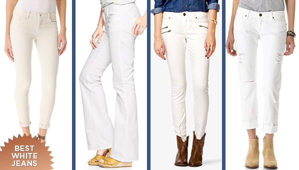 White Denim | Best White Jeans | Spring White Pants