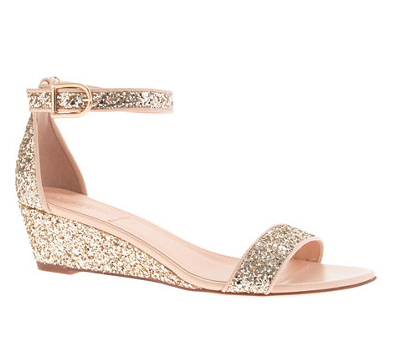 Ankle Strap Sandals 171 Lillian Glitter Low Wedges Shefinds