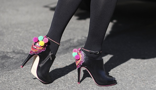 We Can't Stop Cheering About This Spring's Pom Pom Accessories Trend
