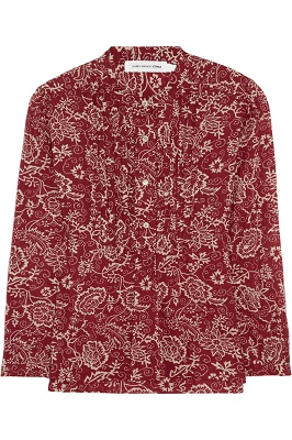 ÉTOILE ISABEL MARANT Stacey printed cotton-voile blouse