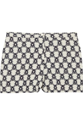 ISABEL MARANT Judie crepe-jacquard shorts