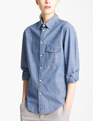Boy. by Band of Outsiders Western Chambray Shirt