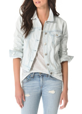 Light Denim | Summer Denim « Rag &amp Bone JEAN The Jean Jacket