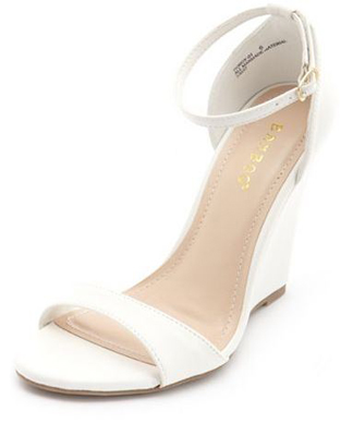 White Sandals | White Summer Sandals « Ankle-Strap Single Sole
