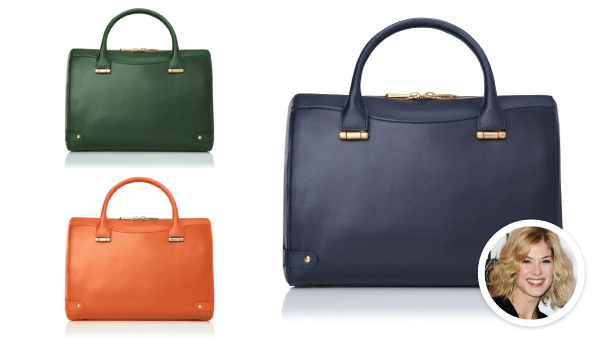 L K Bennett Teamed Up With British Actress Rosamund Pike On A Line Of Handbags