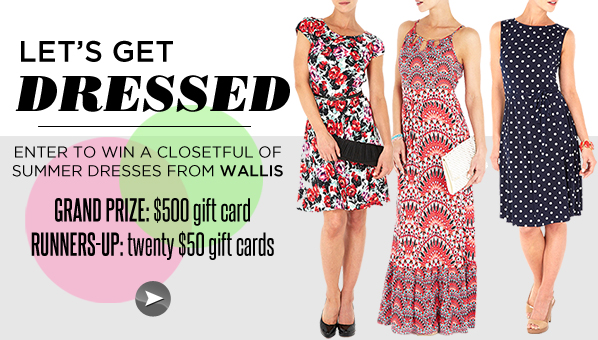 Hurry! There's 1 Day Left To Win A Closetful Of Cute Summer Dresses From Wallis