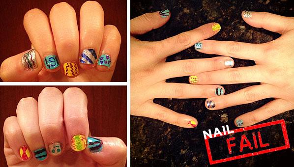 Sharpie Nail Art Sharpie Nail Art Fail Nail Fail