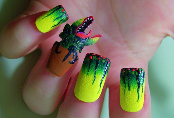 Weird nail art images nail art and nail design ideas wtf nail art weird nail art craziest nail art designs sperm feed me nail art prinsesfo prinsesfo Choice Image