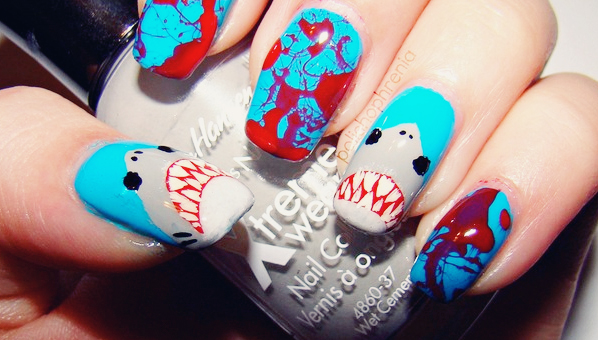 Celebrate Shark Week With These Inspired Manicures