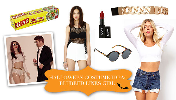 Blurred Lines Halloween Costume