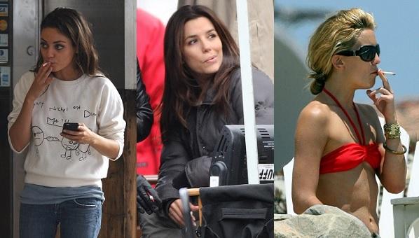 Celebrities that smoke actresses that smoke