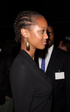 Tyra Banks Natural Hair