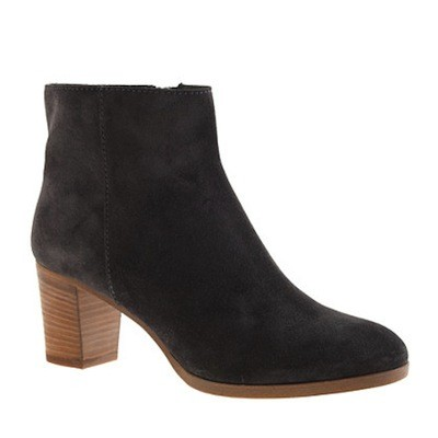 j crew aggie suede ankle boots 171 shefinds