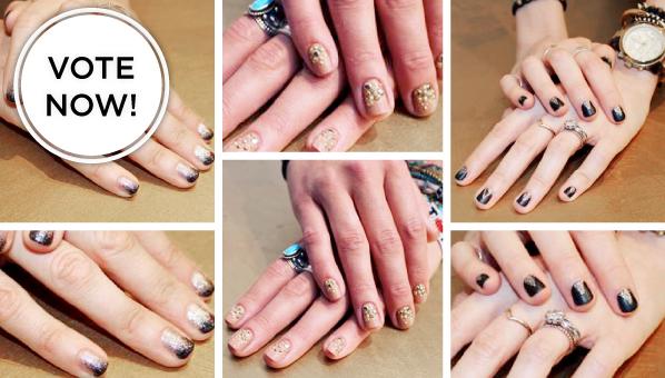 Nicole Miller Nail Art | butter LONDON Nail Art | New York Fashion Week