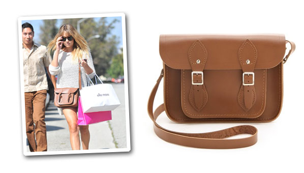 Lauren Conrad Is Out To Prove That Cambridge Satchel Bags Are Still Cool