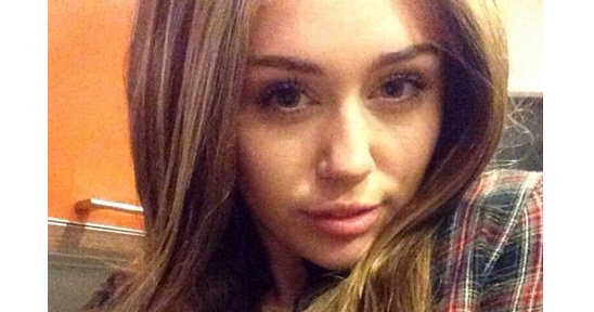 Pleasant Miley Cyrus New Hair Borbotta Com Short Hairstyles For Black Women Fulllsitofus