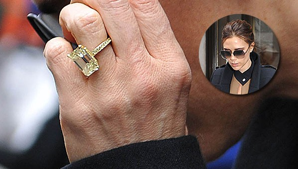 Victoria Beckham Engagement Ring SHEfinds