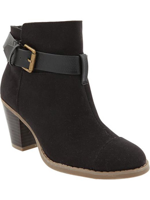Women's Buckle-Ankle Boots